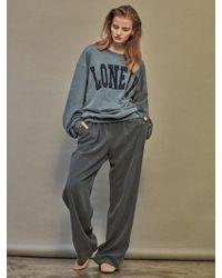 NOHANT - Brunch Wide Trousers Sky Blue - Lyst