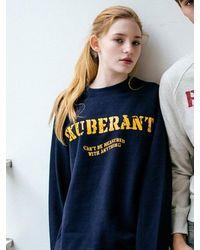 W Concept - Monts003 Exuberant Sweatshirts 2color - Lyst
