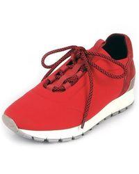 SHOBONYATA - Laminate Springy Smart Sneakers_s3034r - Lyst