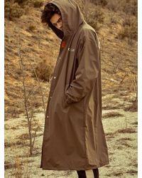 OVERR - Brown Rain Coat - Lyst
