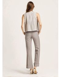 W Concept - Cuffed Pants - Lyst