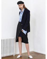 1159 STUDIOS - [xmunn]co Selvage Skirt Stripe - Lyst