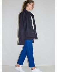 Bouton - Wool String Pants_blue - Lyst