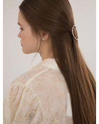 W Concept - Circle Cubic Hairpin - Lyst