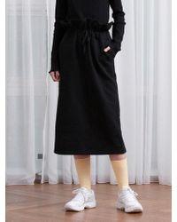 TARGETTO - Frill Training Skirt Black - Lyst