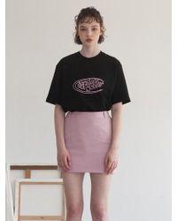 TARGETTO - Tgt Logo T-shirts Black - Lyst