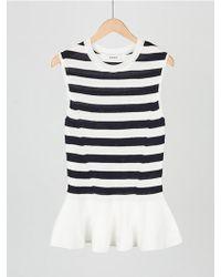 MOIMOII - Ruffle Sleeveless Knit - Lyst