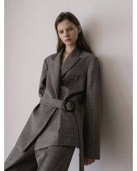 AEER - Glen Check Wool Cashmere Suit - Lyst