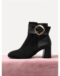 LAGRAZIA - Black Alexa Combi Ankle Boots - Lyst