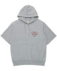 Beyond Closet - Nomantic Heart Logo 1/2 Hd Gray - Lyst