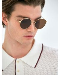 COLLABOTORY - [unisex] Baame9002m Tuesday Gold Brown Lens - Lyst