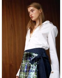 THE ASHLYNN - Anna Cotton_poplin Shirt - Lyst