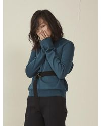 W Concept Knitting Belt Black
