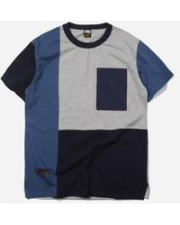 FRIZMWORKS - Coloration Block Tee _ Blue - Lyst