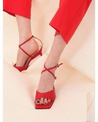 W Concept - Mrc034 X-sandal_red - Lyst