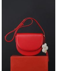 UNDER82 - Camilla Mini Shoulder Bag Red - Lyst