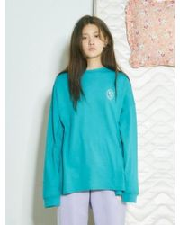 Baby Centaur - [unisex] Baby Woman Hotfix T-shirt Blue Green - Lyst