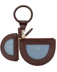 Atelier Park - Cow Leather Wallet Set Burgandy - Lyst