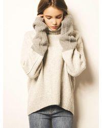 Blanc & Eclare - Nagano_grey Sweater - Lyst