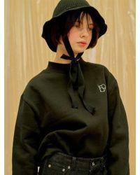1159 STUDIOS - Mh4 Ribbon Knit Buckethat Black - Lyst