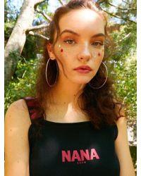 NANA CREW - Nana Sleeveless Black - Lyst