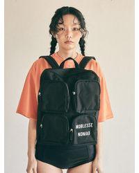 FUNFROMFUN - 4pockets Backpack_black - Lyst