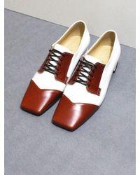 IGINOA - Derby Shoes M-ig-180101 White Camel - Lyst