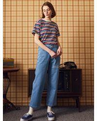 W Concept - [unisex] Ma Pants Blue - Lyst