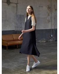 COLLABOTORY | B7ama4018m Pin Stripe Sleeveless Dress | Lyst