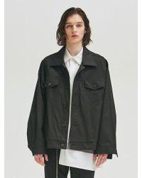 Add - Oversize Jacket Type 1 Black - Lyst