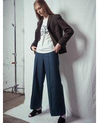 W Concept - Via Wool Parazzo Pants - Lyst