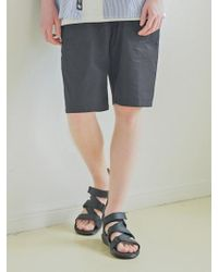 F.ILLUMINATE - [unisex] Cool Fatigue Shorts Black - Lyst