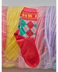 W Concept - Mmcw Argyle Socks - Lyst