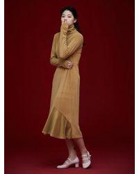 Grace Raiment - Velvet Long Dress - Lyst