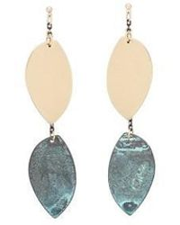 AOULIN - Chic Leaves Earring - Lyst