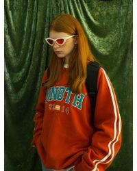 W Concept - [unisex]8f Mnbth Sweatshirt Carrot - Lyst
