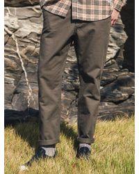 F.ILLUMINATE - [unisex] Normal Slub Cotton Pants-khaki - Lyst