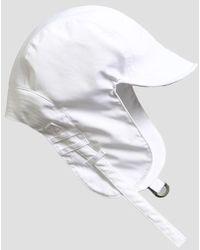 SLEEPYSLIP - [unisex] Satin Trooper Hat White - Lyst