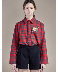 W Concept - Shirring Short Pants Black - Lyst