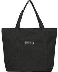 W Concept - [unisex] Bg Logo Tote Bag Black - Lyst