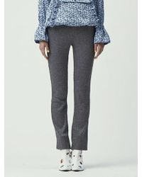 Fleamadonna - Glitter Knitted Trousers - Lyst