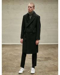 COLLABOTORY - Double Tailored Coat_black - Lyst