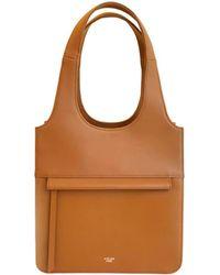 Atelier Park - Line Tote Bag_mini Camel - Lyst