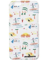 W Concept - Vacationer Phone Case White - Lyst