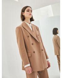 COLLABOTORY - Baama5003m Nomcore Double Breast Oversize Jacket - Lyst