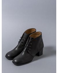 HEENN - Lace-up Ankle Boots In Black - Lyst