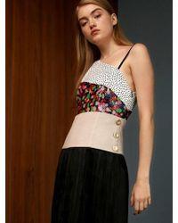 THE ASHLYNN - Lulu Sequined Tiered Midi Dress - Lyst