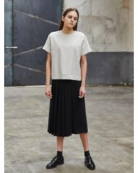 COLLABOTORY - Side Pleats Trousers - Lyst