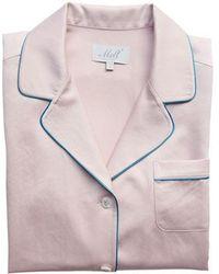 W Concept - Indy Pink Pj Shirt - Lyst