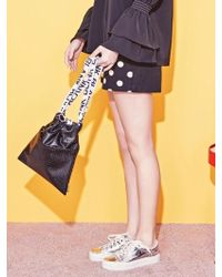 Blank - Dot Mix Shorts-bk - Lyst